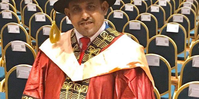 الدكتوراة للباحث عيسى الشعري في الأنظمة الذكية من جامعة UPM/ ماليزيا