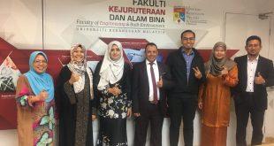 الدكتورة للباحث مختار عبده علي قاسم في الهندسة المدنية من جامعة (UKM )