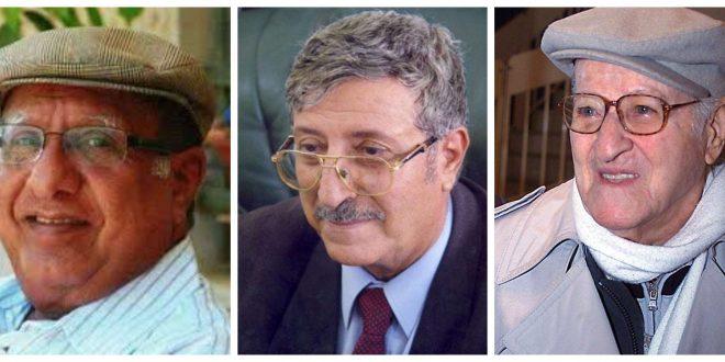 من اليمين: العيسى، د. المقالح، د. يوسف